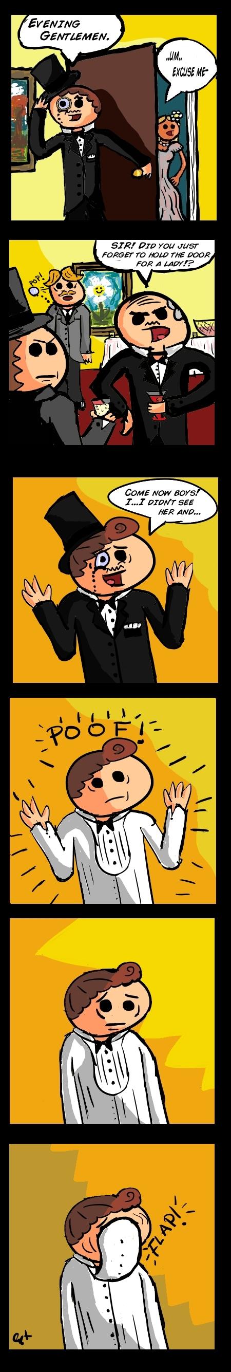 Gentleman Comic